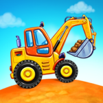 Truck games for kids – build a house car wash 4.0.13