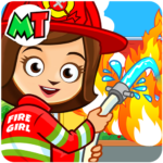 My Town : Fireman & Fire Station Story Game 1.08