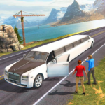 Limousine Taxi Driving Game 1.12