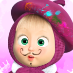 Masha and the Bear: Free Coloring Pages for Kids 1.7.6