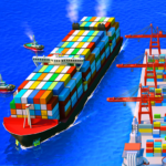 Sea Port: Ship Transport Tycoon & Business Game 1.0.186