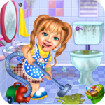 Sweet Baby Girl Cleaning Games 2021: House Cleanup 1.0.5