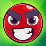 Red Bounce Ball: Jumping and Roller Ball v1.27 with device