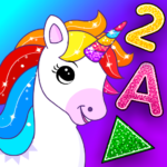 Unicorn Games for Kids & Toddler 2, 3, 4 Year Olds